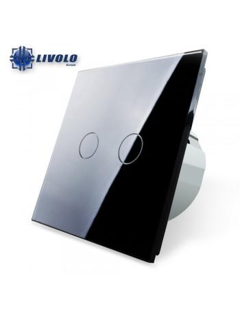 Livolo 2 Gangs - 1 Way