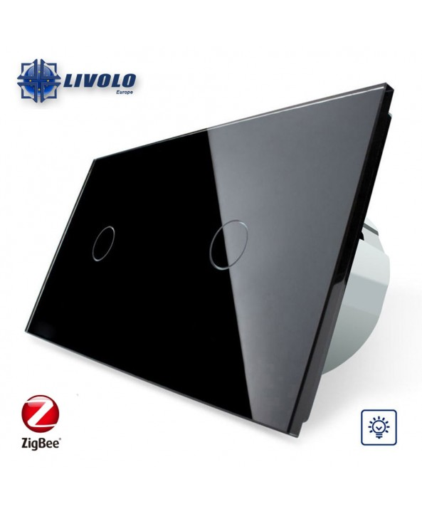 Double Livolo Dimmer Switch - ZigBee