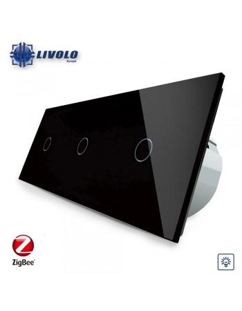 Triple Livolo Dimmer Switch - ZigBee
