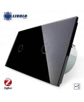 Livolo Double 1-1 Gang - 2 ways - ZigBee