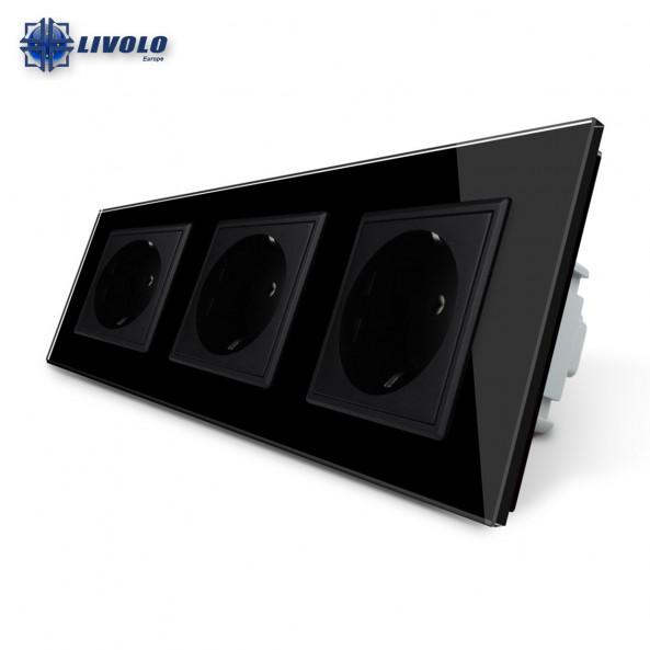 Livolo Wall Power Triple Sockets