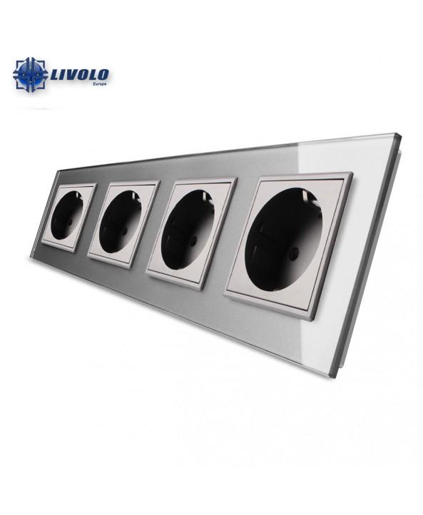 Livolo Wall Power Quadruple Sockets