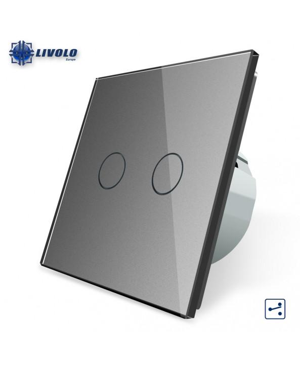 Livolo 2 Gang - 2 Ways