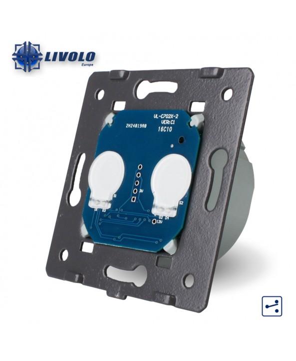 Livolo 2 Gangs -2 Way - Module