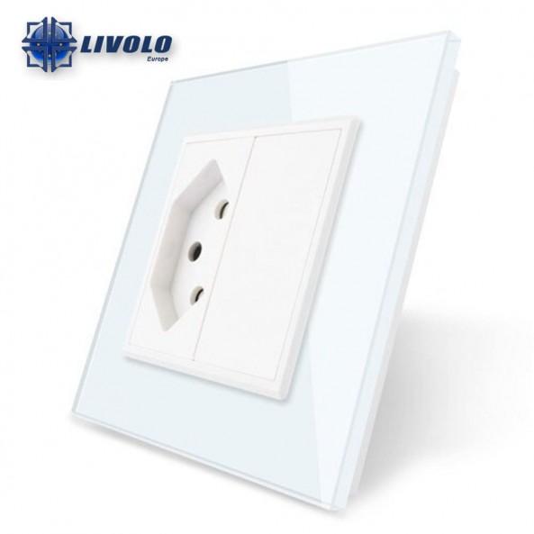 Livolo Wall Power Single Switzerland Socket