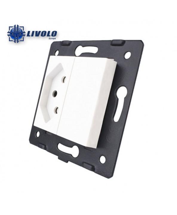 Livolo Wall Power Single Switzerland Socket - Module