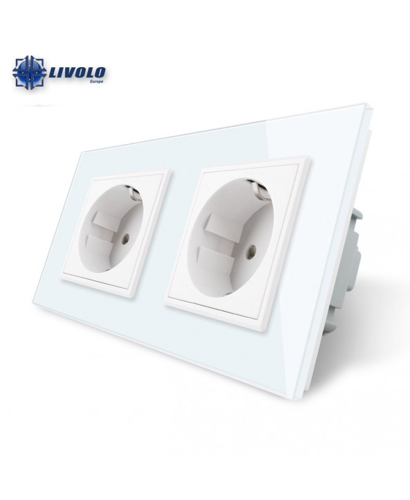 Livolo Wall Power Double Socket