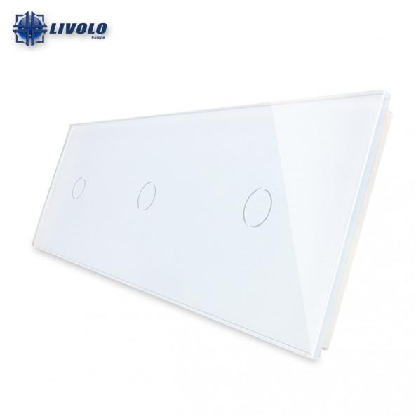 Livolo Triple Crystal Panel 1-1-1