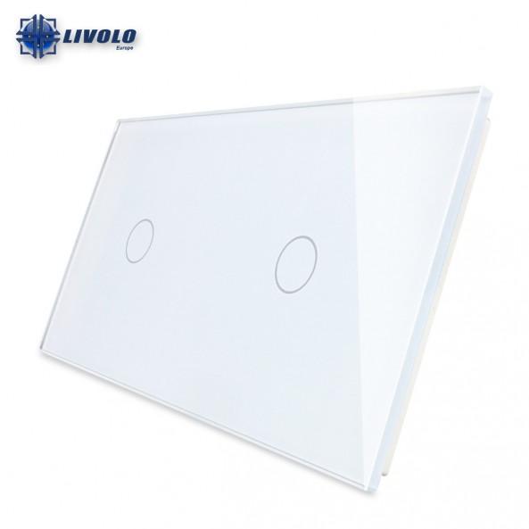 Livolo Double Crystal Panel 1-1