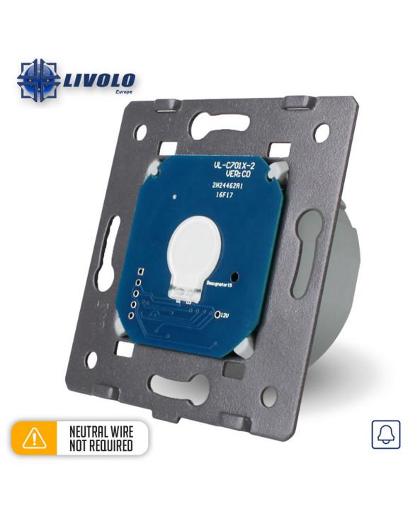 Livolo 1 Gang Doorbell (No Neutral)