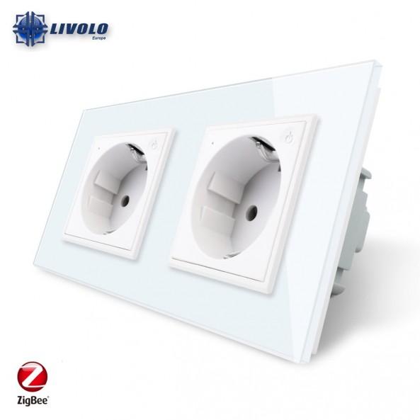 Livolo Wall Power Double Socket / Smart Zigbee
