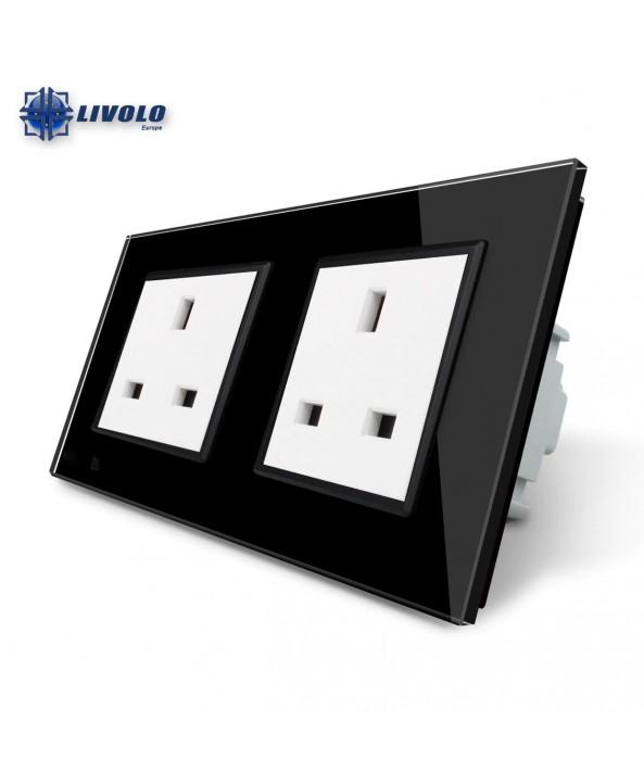 Livolo Wall Power Double UK Socket