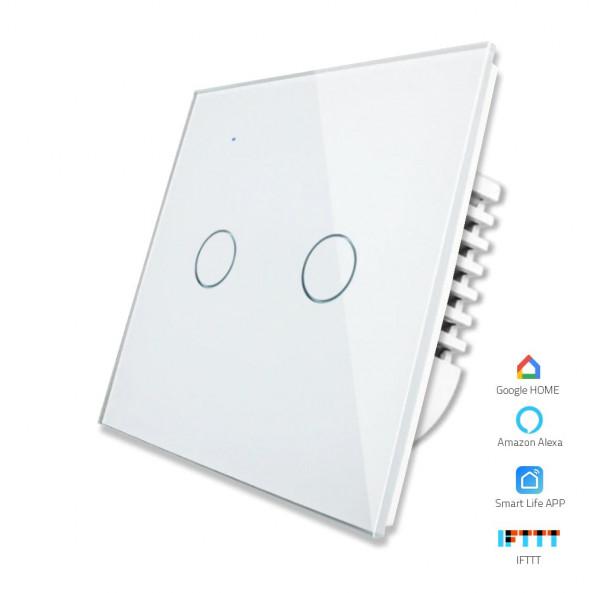 2 Gang - 1/2 Way | Wifi Smart Switch