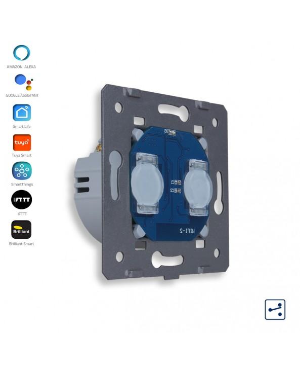 2 Gang - 2 Ways - Module / Smart WiFi