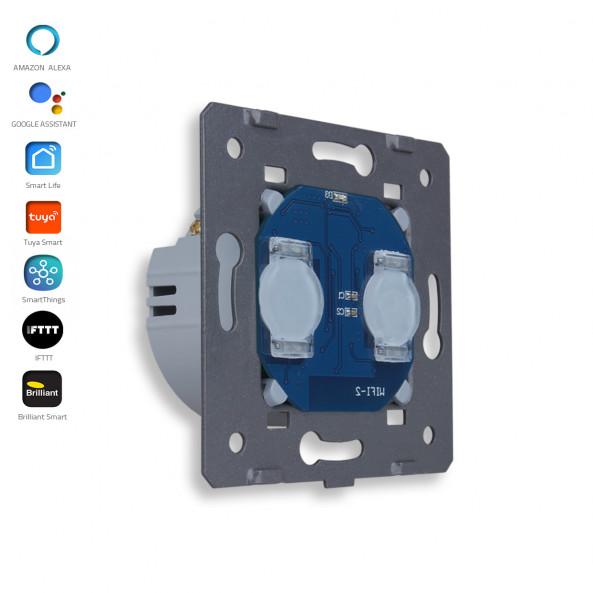 2 Gangs - 1 Way - Module / Smart WiFi
