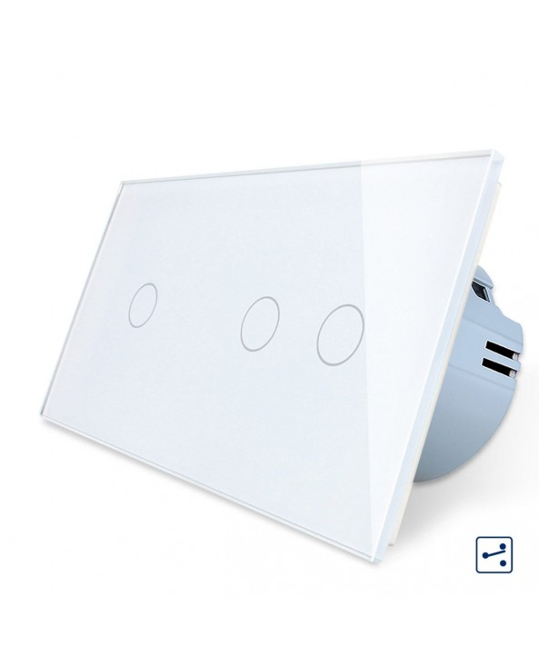 Double 1-2 Gang - 2 ways / Smart WiFi