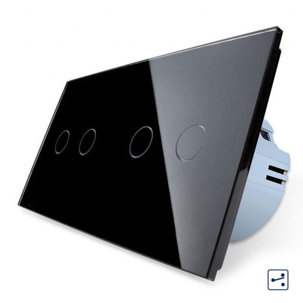 Double 2-2 Gang - 2 ways / Smart WiFi