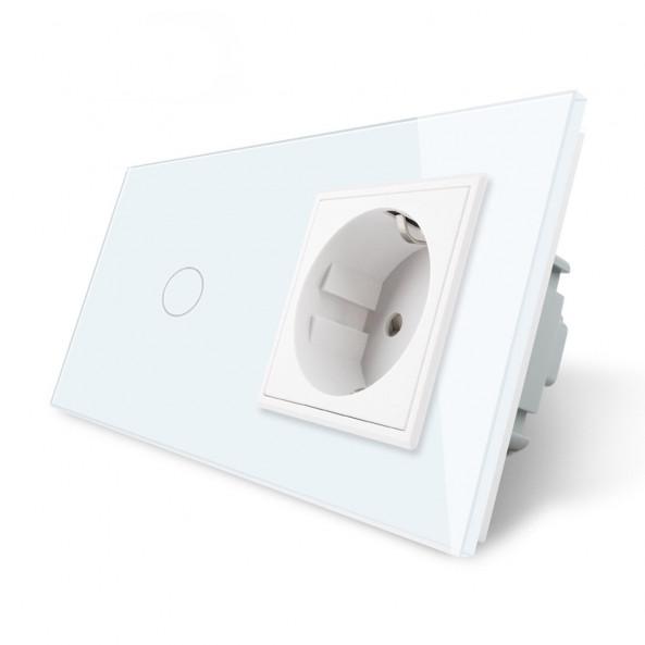 1 Gang + Socket / Smart WiFi